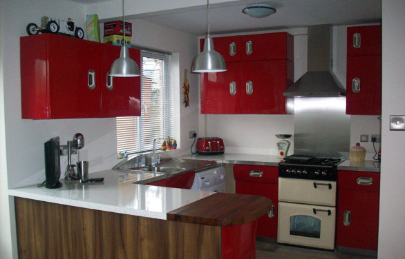 retro kitchens showroom berkshire woodmasters